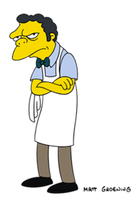 Moe the Bartender, The Simpsons