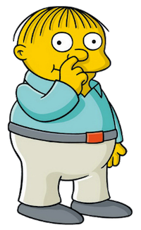 Ralph Wiggum, The Simpsons