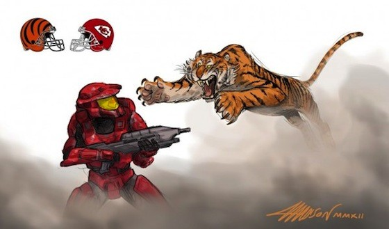 Cincinnati Bengals, Kansas City Chiefs