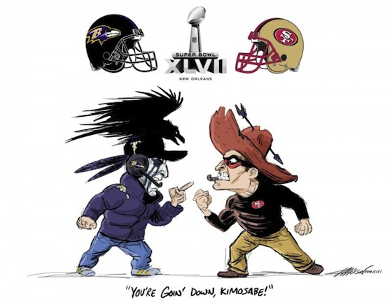 Super Bowl XLVII, Baltimore Ravens, San Francisco 49ers