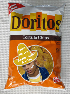 doritos nelly bandaid