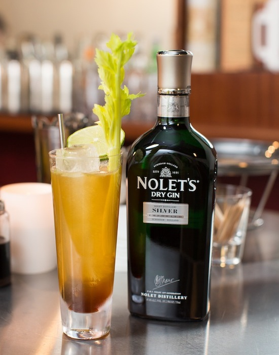 gin and tonic, celery smash, nolet's gin