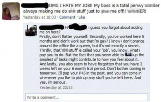 facebook employee rant boss responds