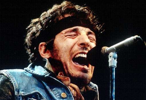 bruce springsteen singing