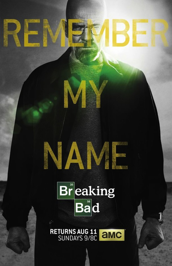 breaking bad season 5 poster, remember my name poster, walter white