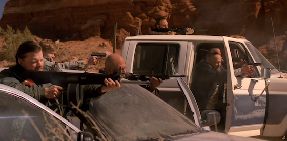 breaking bad shootout