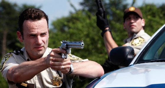 rick and shane, walking dead season 1