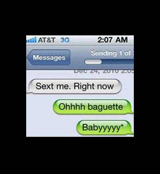 Ridiculous dating sexting fails