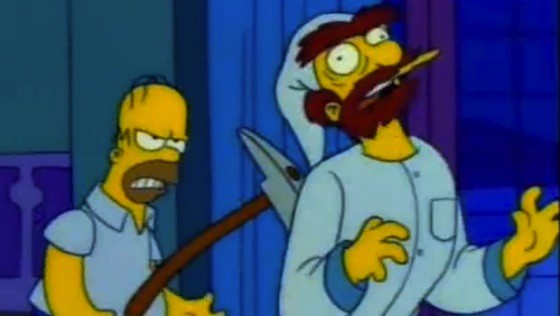 the simpsons, treehouse of horror, the shinning, the shining