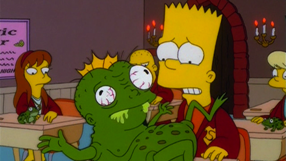 the simpsons, treehouse of horror, harry potter