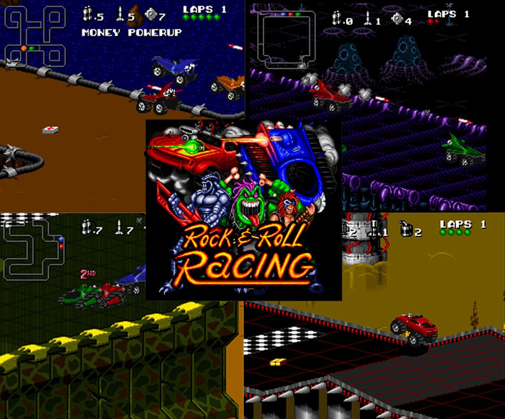 Download DOWNLOAD Rock N´Roll Racing 2 – PS1
