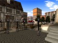 A quiet plaza in Gatheryn