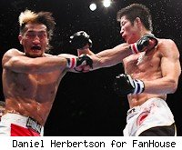 Inoue and Hioki battle it out
