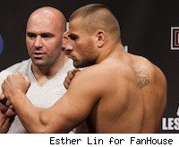 001jonmadsenvskarlosvemola Karlos Vemola Out of UFC 128, Luiz Cane In Need of New Opponent