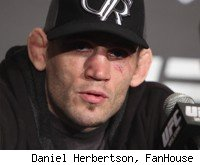 Jon Fitch at the UFC 127 press conference.