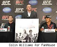 Marshall Zelaznik and several UFC fighters will speak at the UFC 127 press conference.