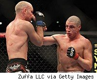 Diego Sanchez and Martin Kampmann