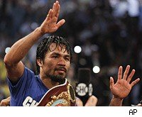 Manny Pacquiao defeated Shane Mosley via a unanimous decision in Las Vegas.