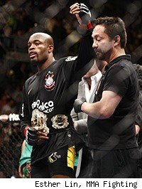Anderson Silva defended his title against Vitor Belfort at UFC 126.