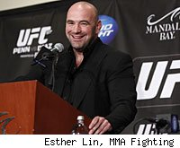 Dana White will answer questions from the media at the UFC on FOX post-fight press conference.
