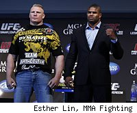 Brock Lesnar and Alistair Overeem will square off in the main event of UFC 141.