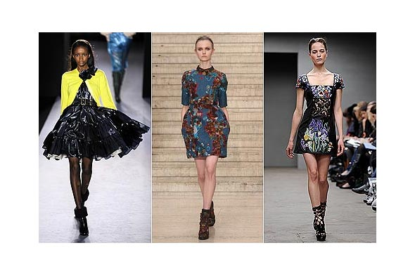 Paul Smith, Erdem, Christopher Kane, London Fashion Week autumn/winter 2010