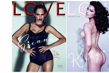 Fourth issue of LOVE magazine stars models, actresses - and a doll
