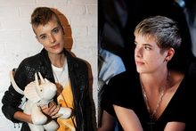 Hot or Not: Agyness Deyn's modern mohawk