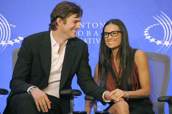 Demi Moore and Ashton Kutcher 'Real Men Don't Buy Girls'
