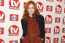 Karen Gillan is best dressed at the TV Choice Awards