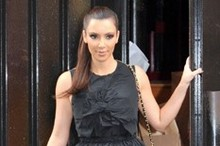 Kim Kardashian shops in style in Paris