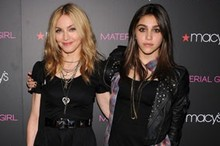 Like mother, like daughter: Madonna and Lourdes get goth for launch