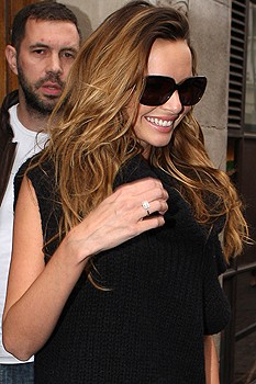 Nadine Coyle engagement ring