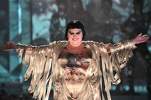 Plus-size - for real! Beth Ditto walks for Gaultier
