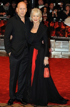 Bruce Willis, Helen Mirren, Red premiere