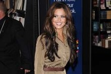 Attention! Cheryl Cole embraces military style at her book signing
