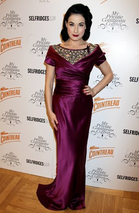 Dita Von Teese at Selfridges