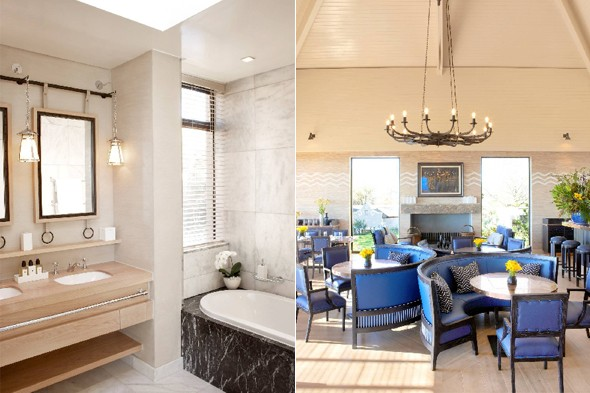 Delaire Graff bathroom and dining