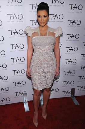 Kim Kardashian at Tao event