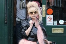 Lady Gaga ruffles feathers as she goes for a pint in London