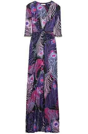A maxi dress from designer Matthew Williamson's Net-a-Porter collection