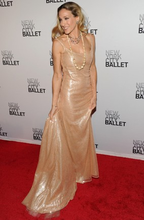 Sarah Jessica Parker at the New York City Ballet