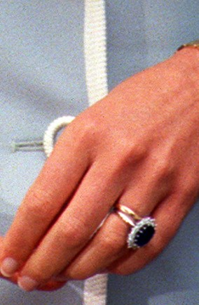 kate middleton ring value. Diana#39;s engagement ring PA