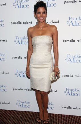 Halle-Berry-cream-dress-frankie-and-alice-screening