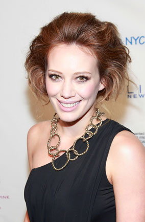 Hilary Duff bouffant
