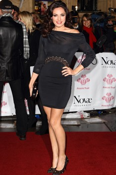 Kelly Brook Prince's Trust Gala red carpet