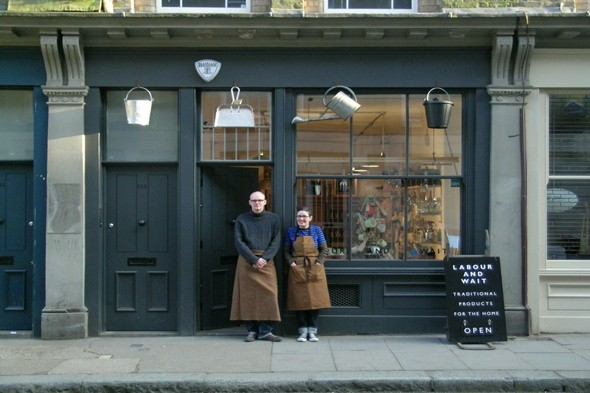 boutique of the week labour and wait shop front hardware shops