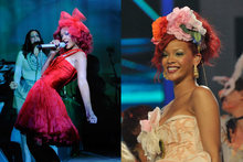 Hot or Not: Rihanna's oversized hair accessories