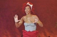 Rihanna kicks off the countdown to Christmas at Westfield