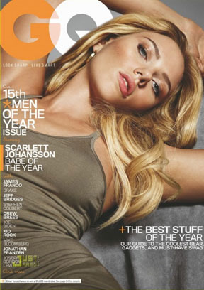 Scarlett Johansson GQ Babe of the Year